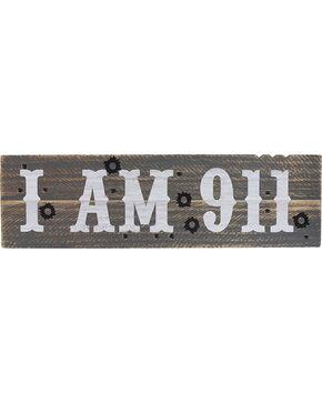 BB Ranch I Am 911 Wall Sign, No Color, hi-res