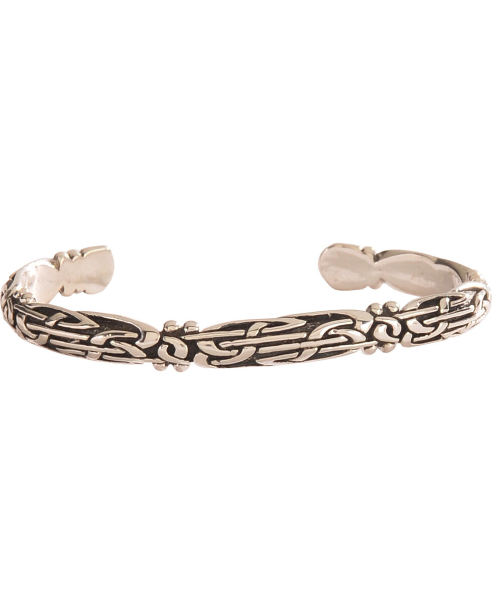 Silver Legends Women's Celtic Bracelet , Silver, hi-res