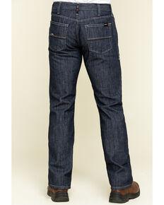 Ariat Men's M5 FR Armor Low Stretch Stackable Straight Leg Work Jeans - Big , Blue, hi-res