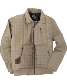 Wrangler Men's RIGGS Workwear Tradesman Jacket, Dark Khaki, hi-res