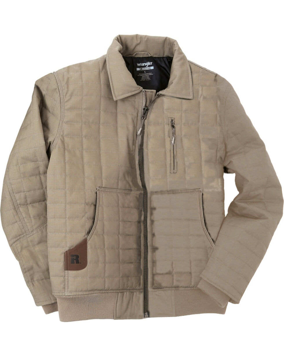 Wrangler Men's RIGGS Workwear Tradesman Jacket - Big & Tall, Dark Khaki, hi-res
