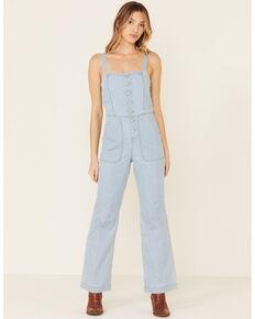 Idyllwind Women's Sunbright Wide Leg Jumpsuit, Light Blue, hi-res