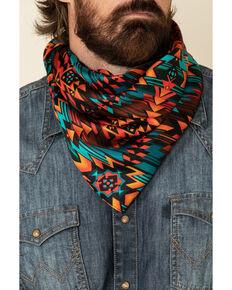 Austin Accent Men's Silk Southwest Pattern Bandana, Multi, hi-res