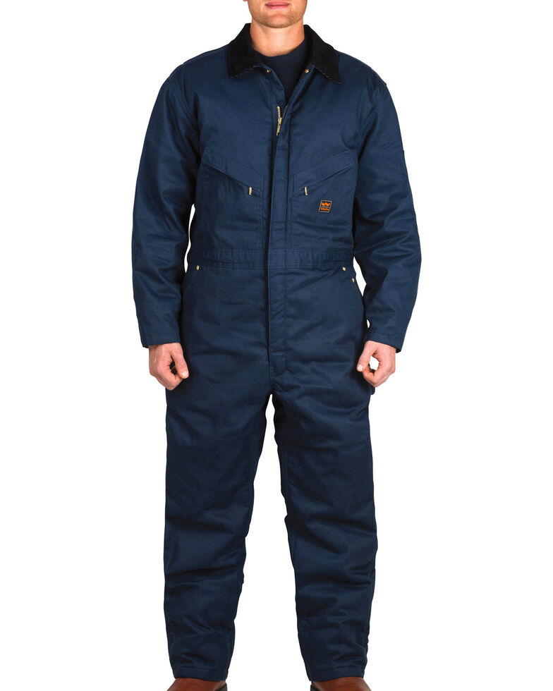 d30ac84cbd550 Zoomed Image Walls Garland Zero Zone Insulated Coveralls, Navy, hi-res
