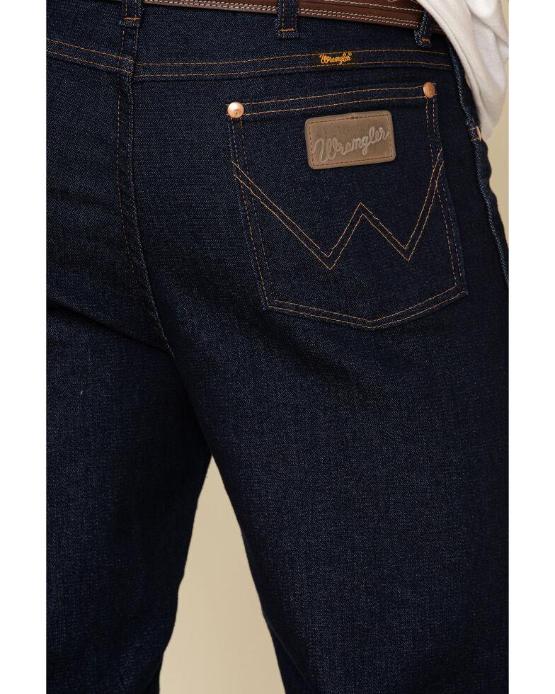 Wrangler Men's Active Flex Prewashed Indigo Slim Cowboy Cut Jeans - Big , Indigo, hi-res