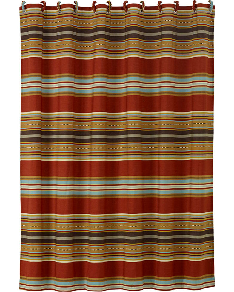HiEnd Accents Calhoun Striped Shower Curtain | Sheplers