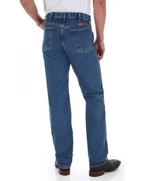 Wrangler Men's Blue FR Flame-Resistant Original Fit Jeans - Straight Leg , Blue, hi-res