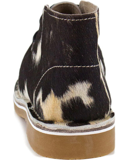 Uwezo Women's Cowhide Desert Boots - Round Toe, Multi, hi-res