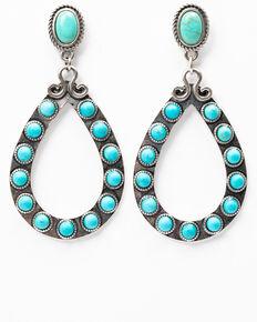 Shyanne Women's Roaming West Turquoise Teardrop Earrings, Turquoise, hi-res