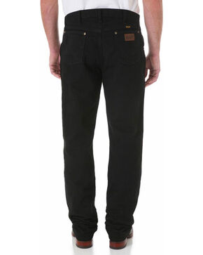 Wrangler Men's Black Premium Performance Cowboy Cut Regular Fit Jeans, Black, hi-res
