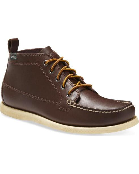 Eastland Men's Seneca Camp Moc Chukka Boots - Moc Toe, Dark Brown, hi-res