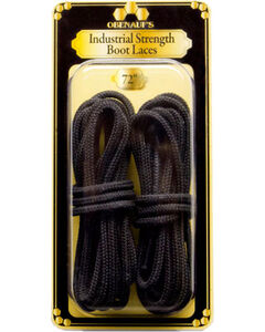 """Obenauf's Industrial Strength 72"""" Boot Laces, Black, hi-res"""
