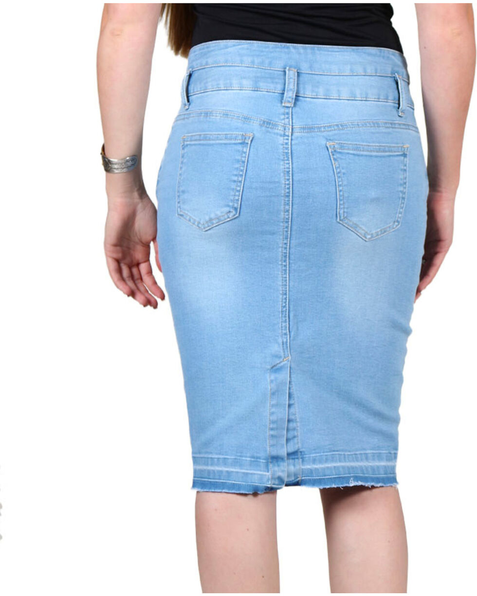 Boom Boom Jeans Women's Denim Skirt, , hi-res