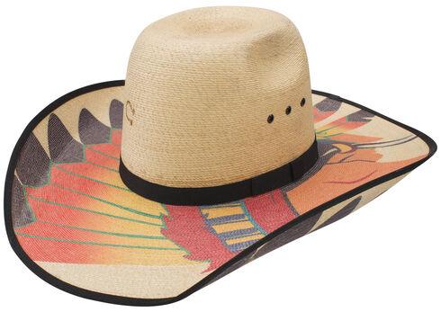 Charlie 1 Horse Natural Brave Western Hat, Natural, hi-res