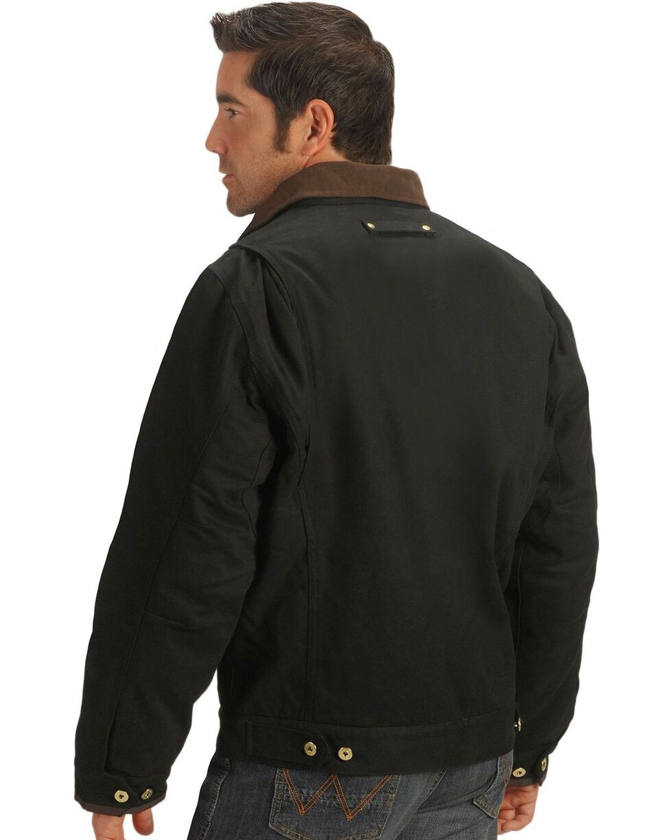 Dickies Sanded Duck Canvas Jacket, Black, hi-res