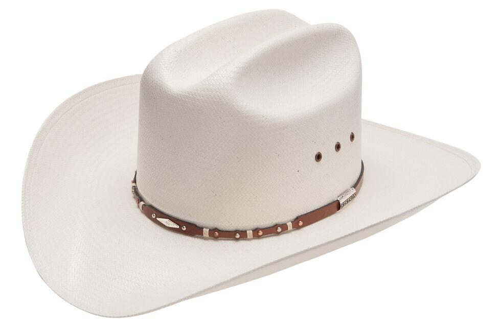 Stetson Saddle Rock 10X Straw Cowboy Hat, , hi-res