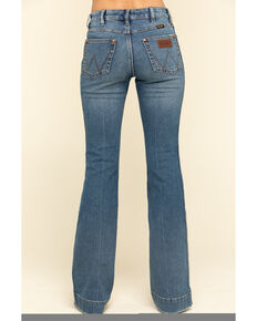 Wrangler retro Women's Vintage Medium Shelby Trouser Jeans , Blue, hi-res