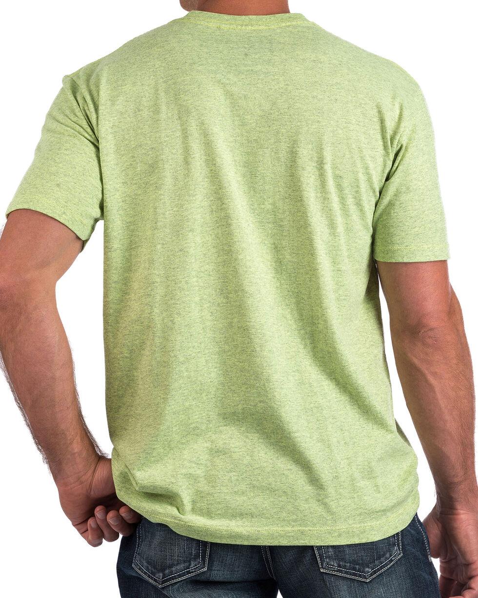 Cinch Men's Lime Green Diamond Logo Tee , , hi-res