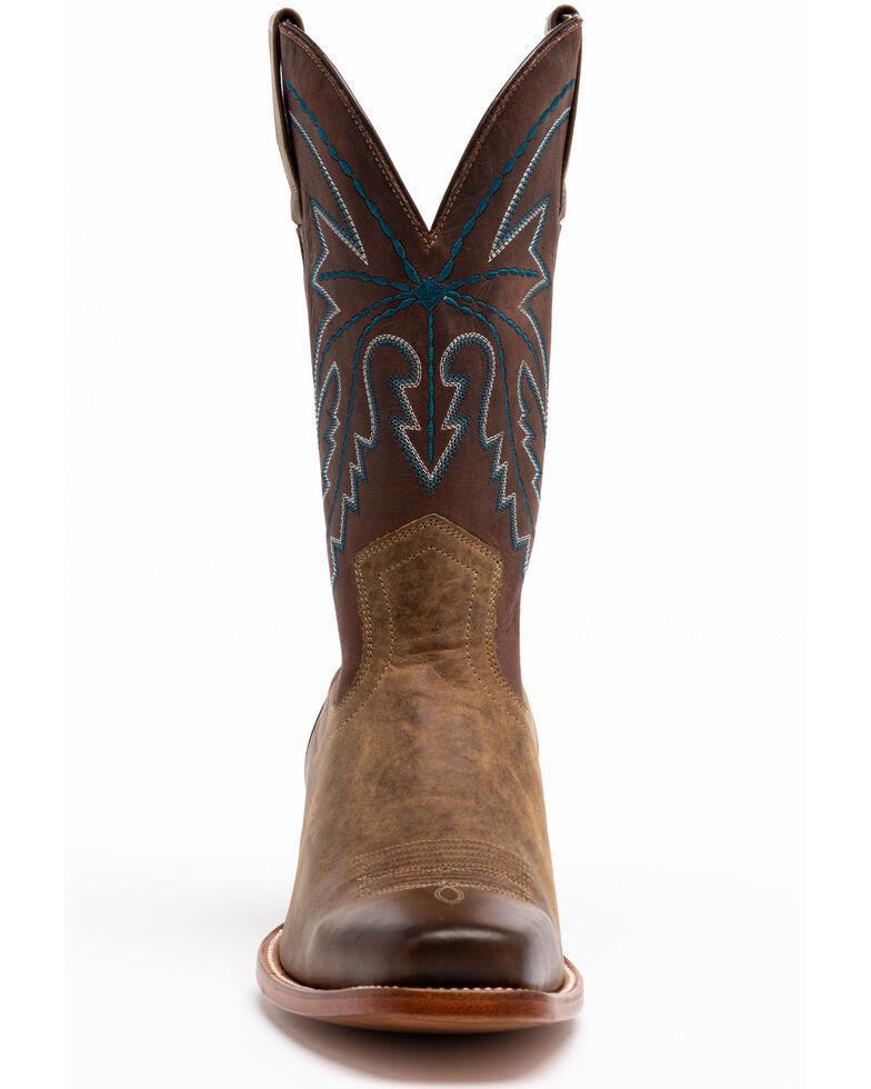 Cody James Men's Potrero Western Boots - Square Toe, Brown, hi-res