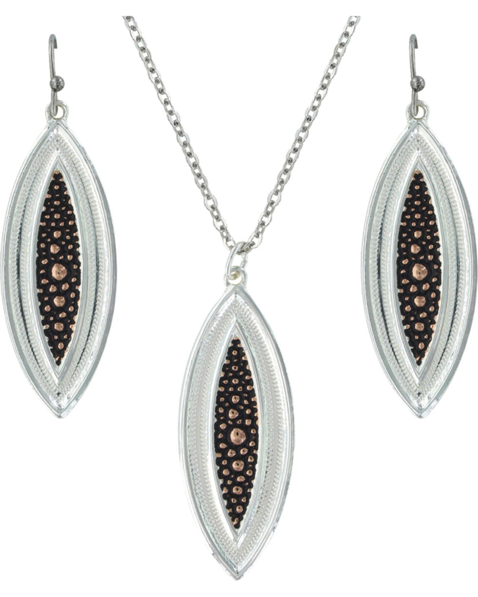 Montana Silversmiths River Pebbles at Sunset Jewelry Set, Multi, hi-res