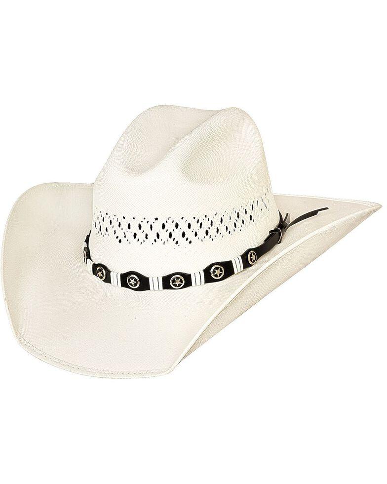 Bullhide Justin Moore Small Town USA 100X Shantung Straw Cowgirl Hat, Natural, hi-res