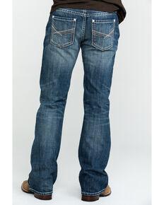 Rock & Roll Denim Men's Pistol Vintage Med Boot Jeans , Blue, hi-res