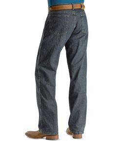 """Wrangler Jeans - Rugged Wear Relaxed Fit - Big. 44"""" to 52"""" Waist, Mediterran, hi-res"""