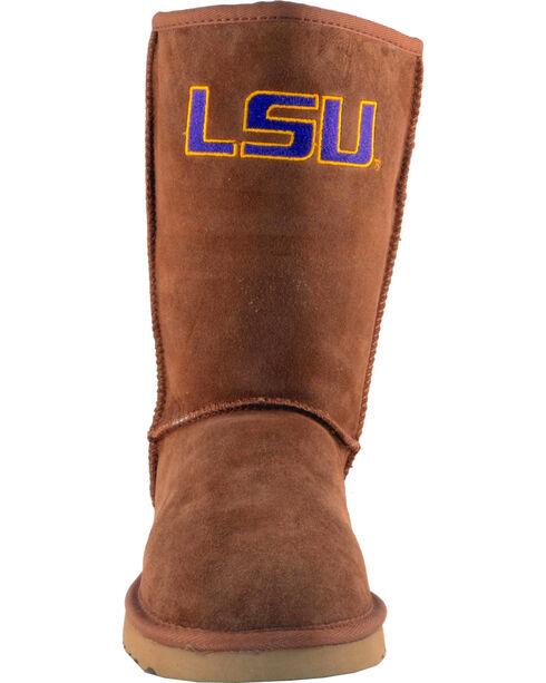 Gameday Boots Women's Louisiana State University Lambskin Boots, , hi-res