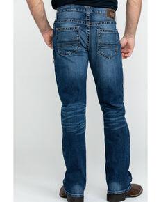 Ariat Men's M4 Summit Low Rise Stretch Boot Jeans - Big , Blue, hi-res