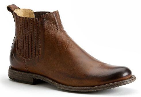 Frye Men's Phillip Chelsea Boots - Round Toe, Cognac, hi-res