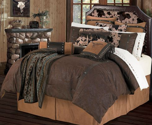 HiEnd Accents Caldwell Queen Size Bedding Set, Multi, hi-res