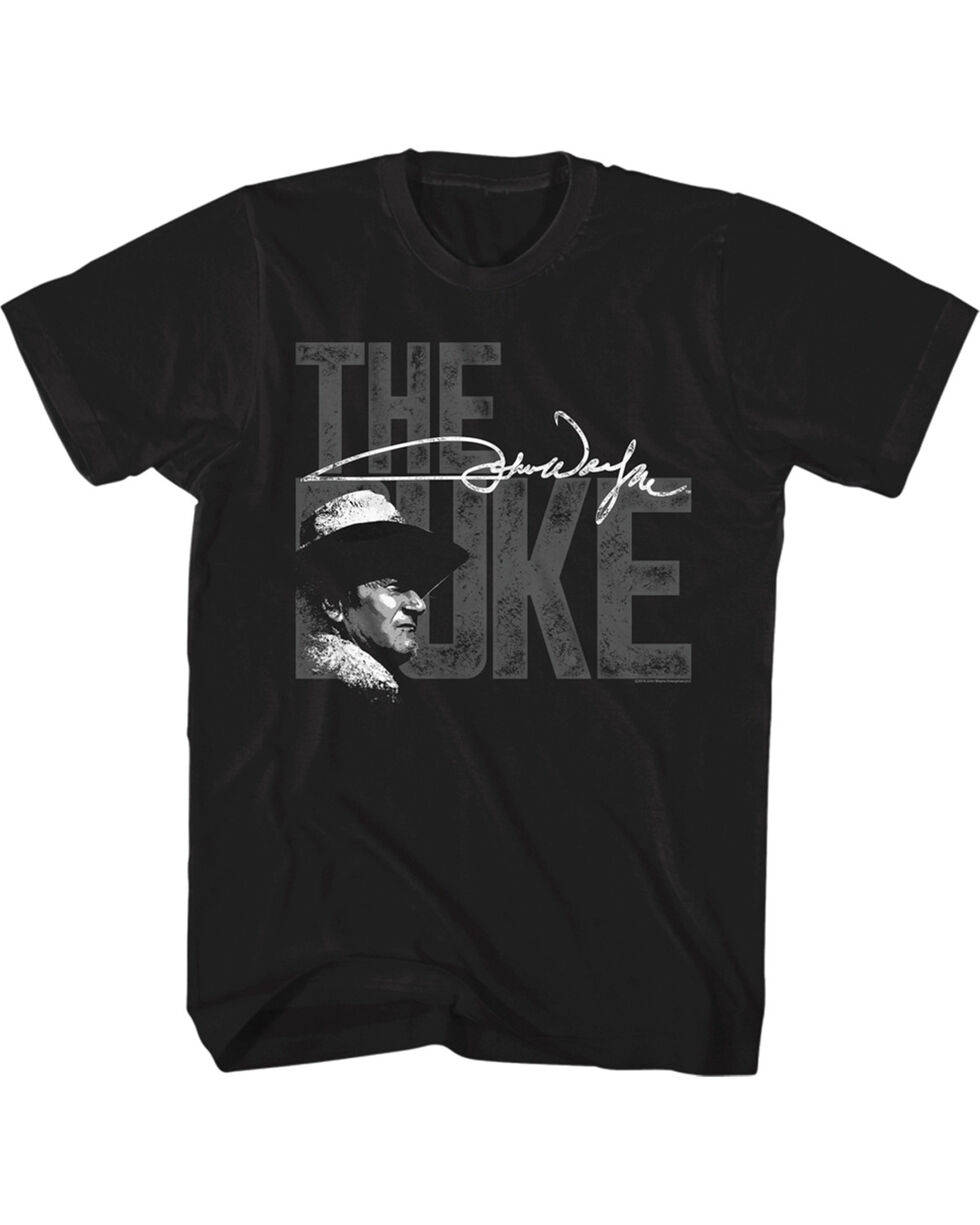 John Wayne Men's The Duke T-Shirt, Black, hi-res