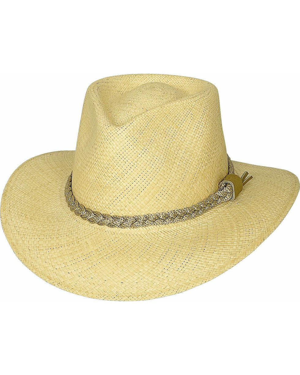 Bullhide Cape Coral Panama Straw Cowgirl Hat, Natural, hi-res