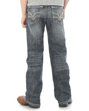 Wrangler Rock 47 Boys' Slim Fit Jeans - Husky , Indigo, hi-res
