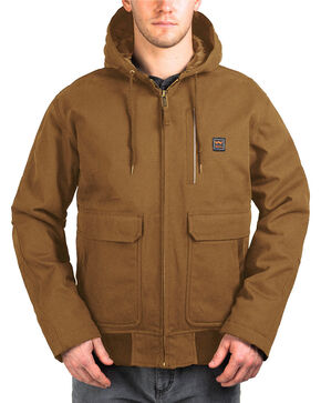 Walls Men's Blizzard-Pruf Insulated Hooded Jacket , Pecan, hi-res