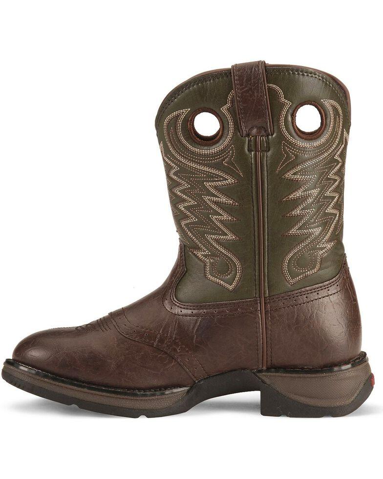 Durango Boys' Dark Brown Lil' Rebel Cowboy Boots, Dark Brown, hi-res