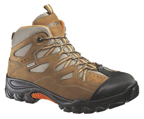 Wolverine Durant Waterproof Work Boots - Steel Toe, Light Brown, hi-res