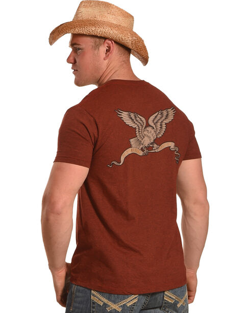 Moonshine Spirit Men's Freedom T-Shirt, Red, hi-res