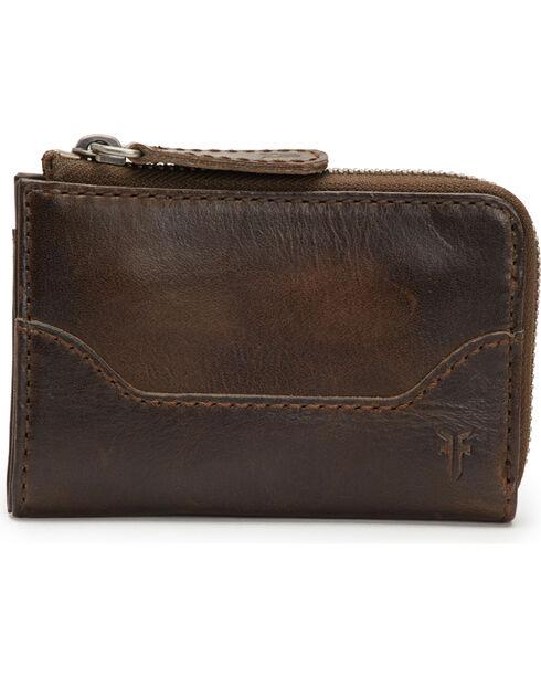 Frye Women's Small Melissa Leather Zip Wallet , , hi-res