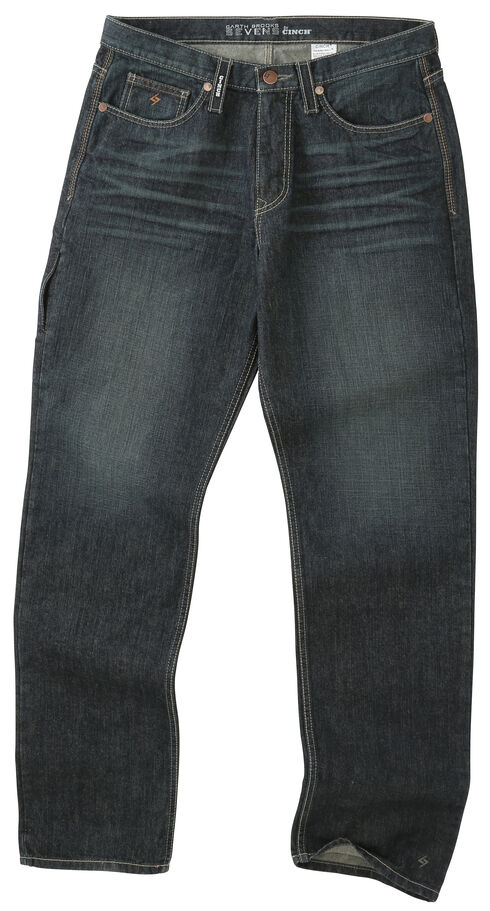 Garth Brooks Sevens by Cinch Men's Loose Fit Bootcut Jeans, Indigo, hi-res
