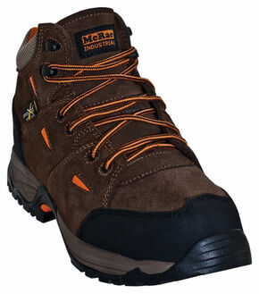 McRae Men's Hiker Met Guard Boots - Composite Toe , Brown, hi-res