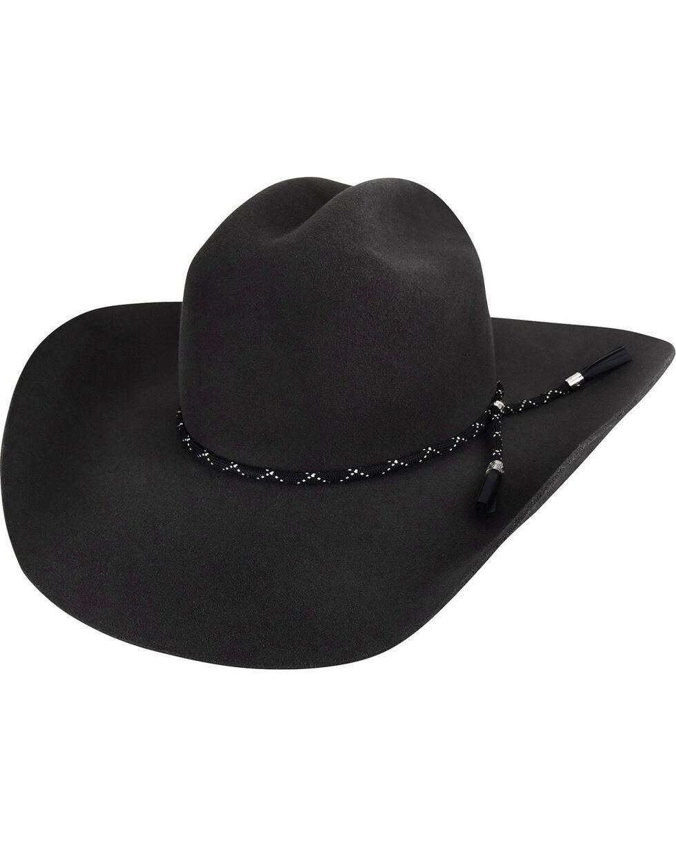 Bailey Men's Black Zippo 2X Wool Felt Hat, Black, hi-res