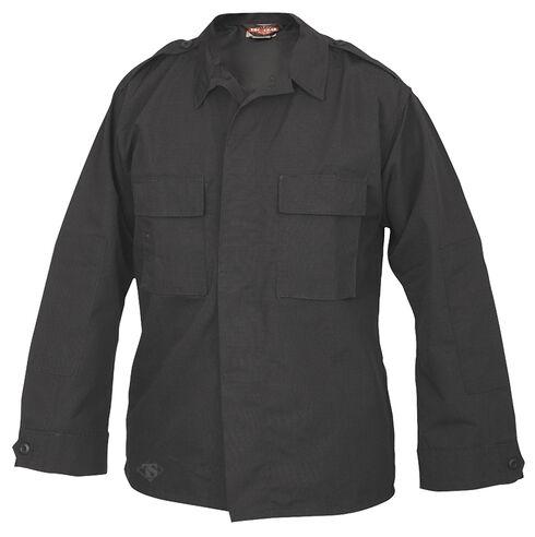 Tru-Spec Men's Black Long Sleeve Tactical Shirt , Black, hi-res