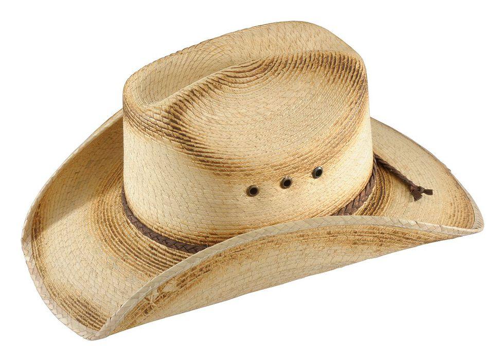 Bullhide Kids' Pony Express Straw Cowboy Hat, Natural, hi-res