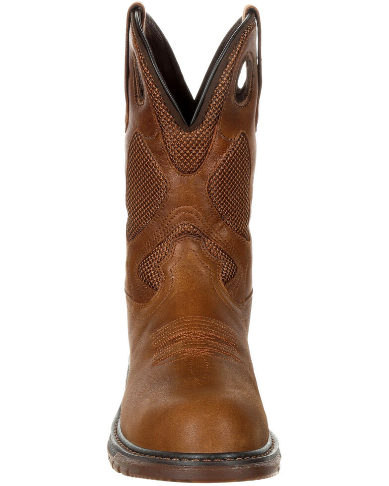 ac6a03bbb94 Rocky Men's Original Ride FLX Western Boots - Safety Toe