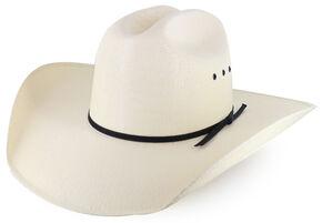 Cody James Black Tie Straw Cowboy Hat, Natural, hi-res