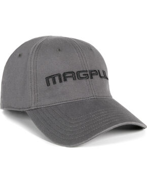 Magpul Men's Core Cover Wordmark Low Crown Baseball Cap , Grey, hi-res