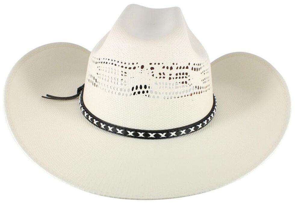 Cody James Men's Bangora Straw Cowboy Hat, , hi-res