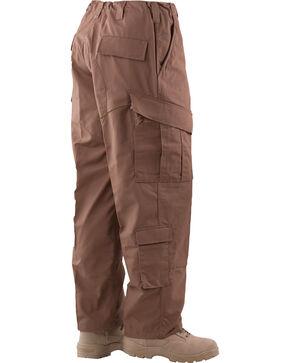 Tru-Spec Tactical Response Camo RipStop Uniform Pants, Coyote Brown, hi-res
