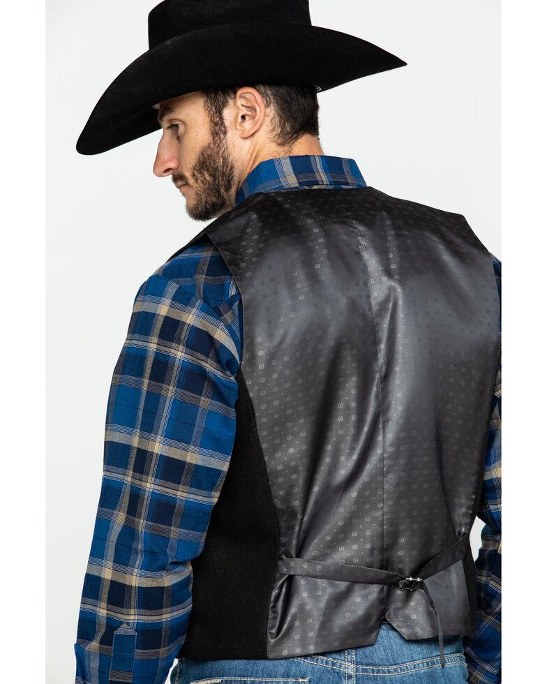 Scully RangeWear Men's Western Wool Tweed Vest , Brown, hi-res